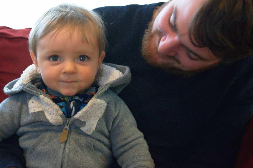 CT - bébé et papa - 20 fev