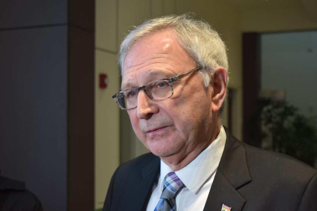 Le premier ministre Blaine Higgs. - Acadie Nouvelle: Mathieu Roy-Comeau.
