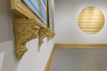 Une partie de l'installation de Sarah Thibault à la Galerie Sans Nom. - Gracieuseté: Mathieu Léger