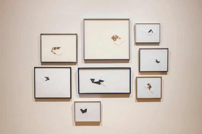 Des oeuvres de Mathieu Léger tirées de l'exposition Une structure, découverte par la coupe. - Gracieuseté: Mathieu Léger
