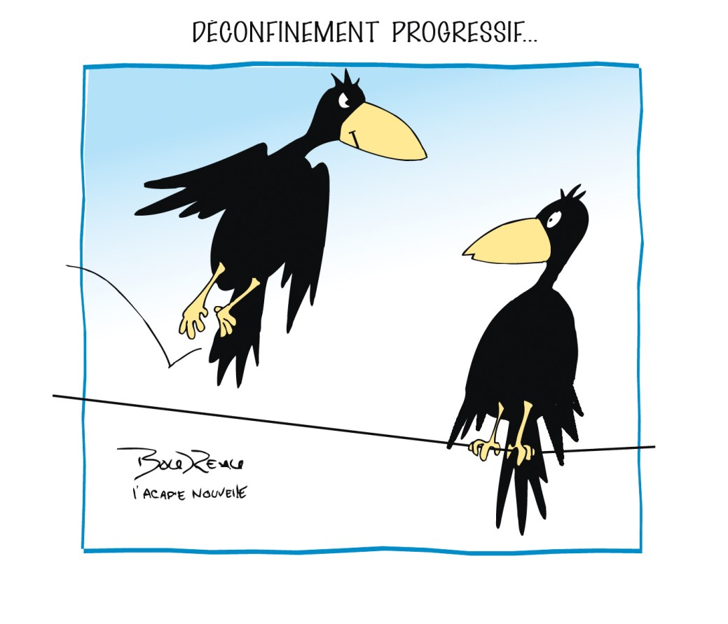 Caricature, 5 mai 2020