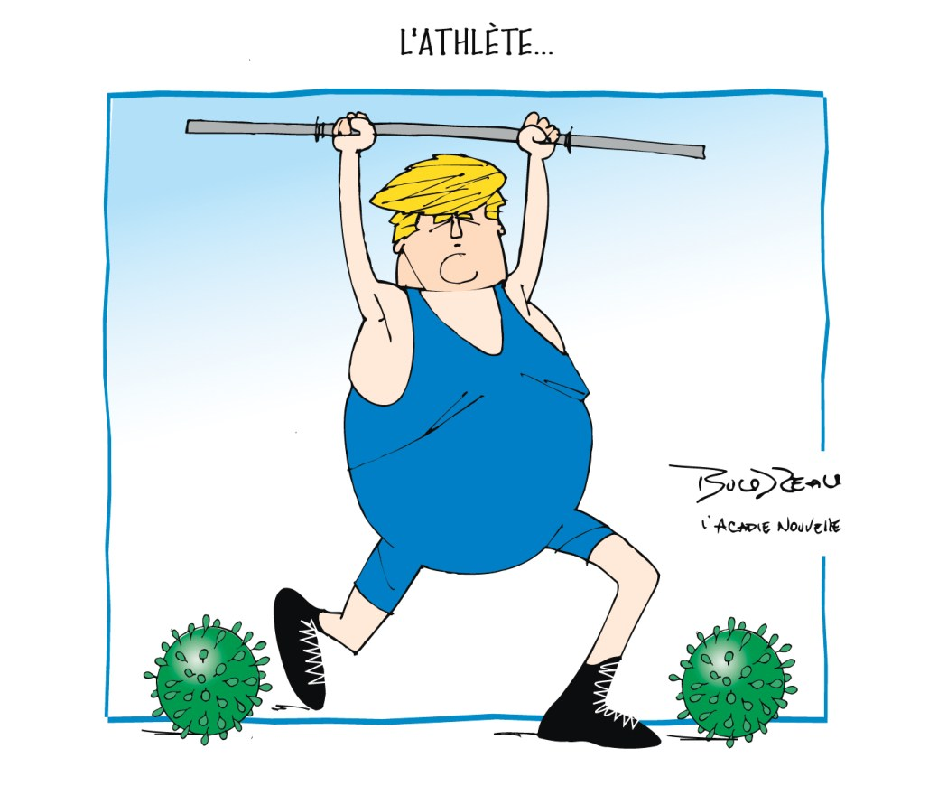 Caricature, 22 mai 2020