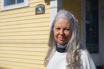 La directrice littéraire et générale des éditions Bouton d'or Acadie, Chantal Cadieux. - Acadie Nouvelle: Pascal Raiche-Nogue