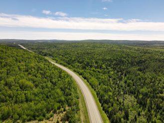 Paysage du Restigouche-Ouest. - Acadie Nouvelle: Simon Delattre