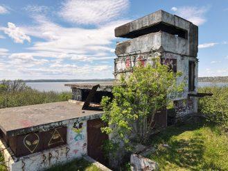 Ce poste d'observation a été recouvert de graffitis et abîmé par des feux. - Acadie Nouvelle: Simon Delattre