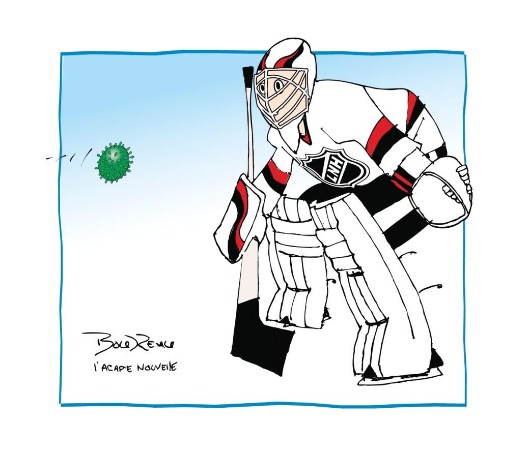 Caricature, 30 juillet 2020