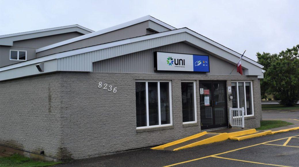 Le point de service d'UNI Coopération financière de Bas-Caraquet ferme définitivement ses portes. - Acadie Nouvelle: David Caron