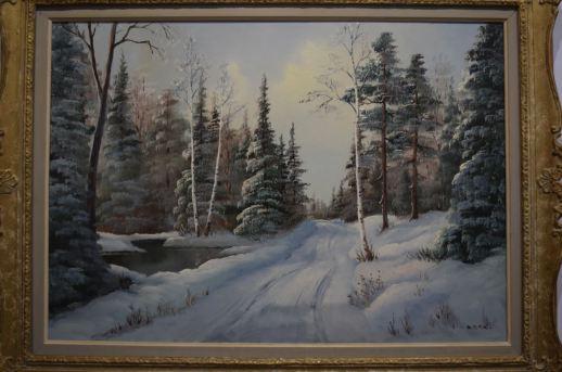 Une oeuvre réalisée par Anna Malenfant de la Collection Cormier. - Acadie Nouvelle: Sylvie Mousseau