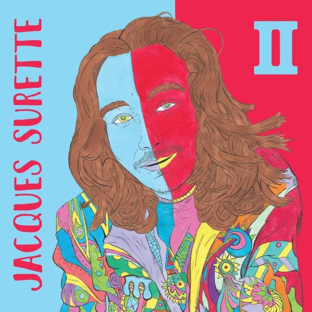 Jacques Surette lance un nouvel album et c'est Richard Daigle qui a réalisé l'illustration de la pochette. - Gracieuseté