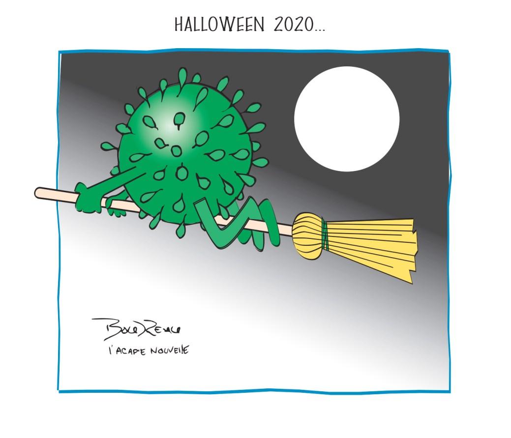Caricature, 30 octobre 2020