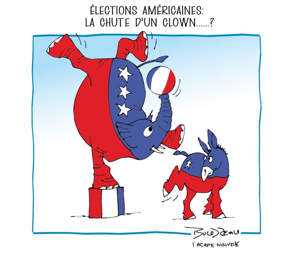 Caricature, 3 novembre 2020