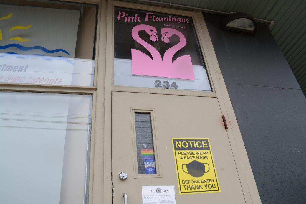 À chaque fois qu'il ouvre son établissement depuis la pandémie, le propriétaire de l'établissement Pink Flamingos Joel David Fowler est plein d'espoir, mais est parfois déçu. - Acadie Nouvelle: Cédric Thévenin