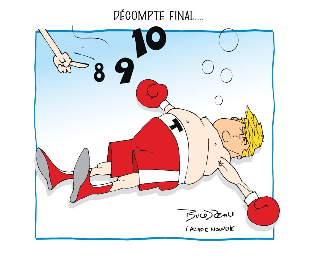 Caricature, 10 novembre 2020