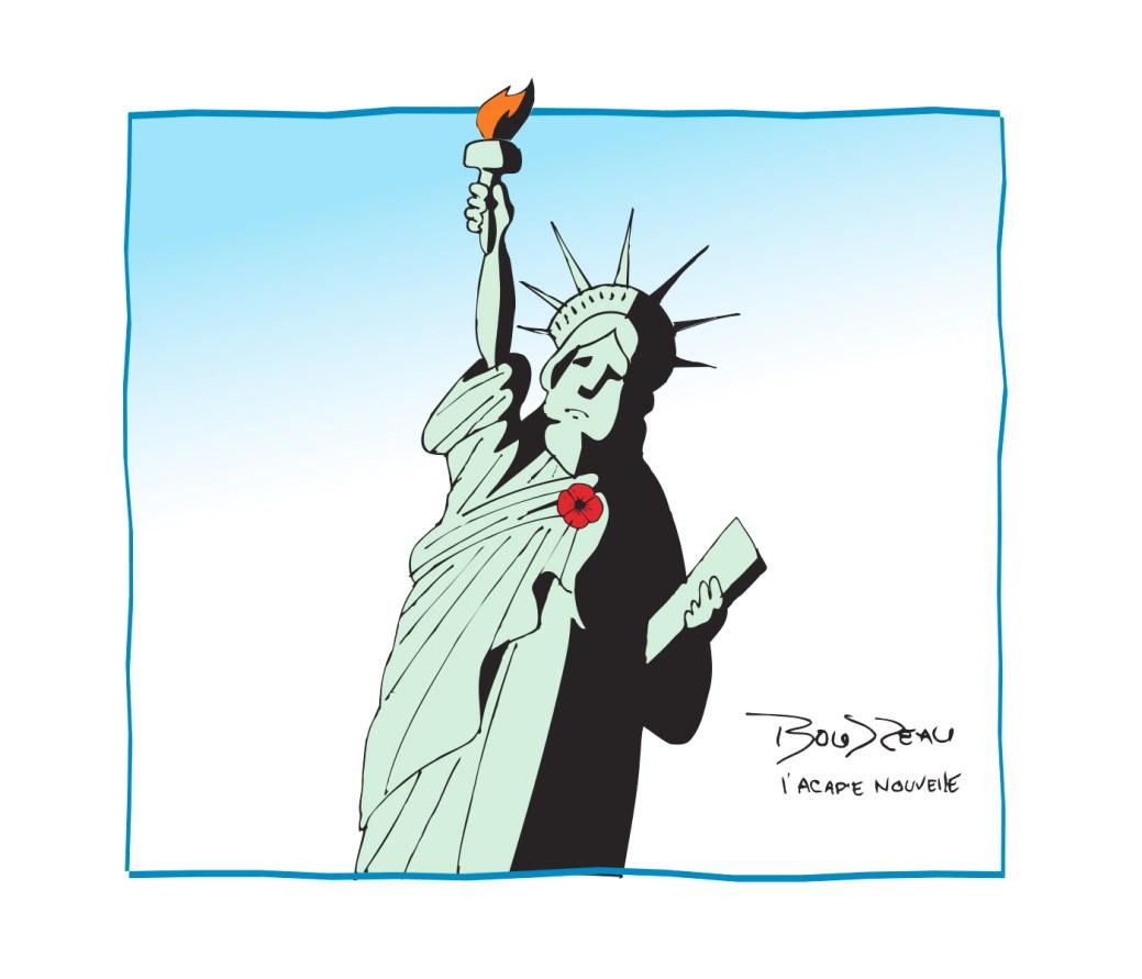 Caricature, 11 novembre 2020