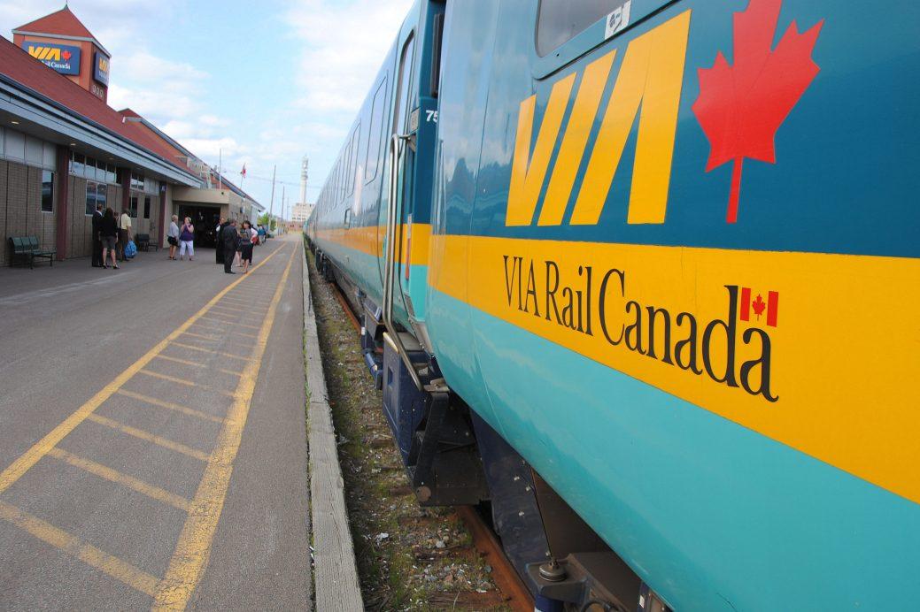 La gare de Moncton - Archives