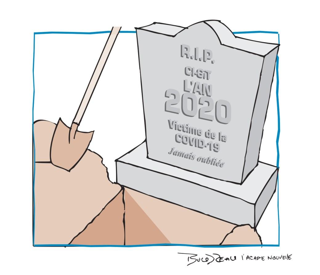 Caricature, 31 décembre 2020