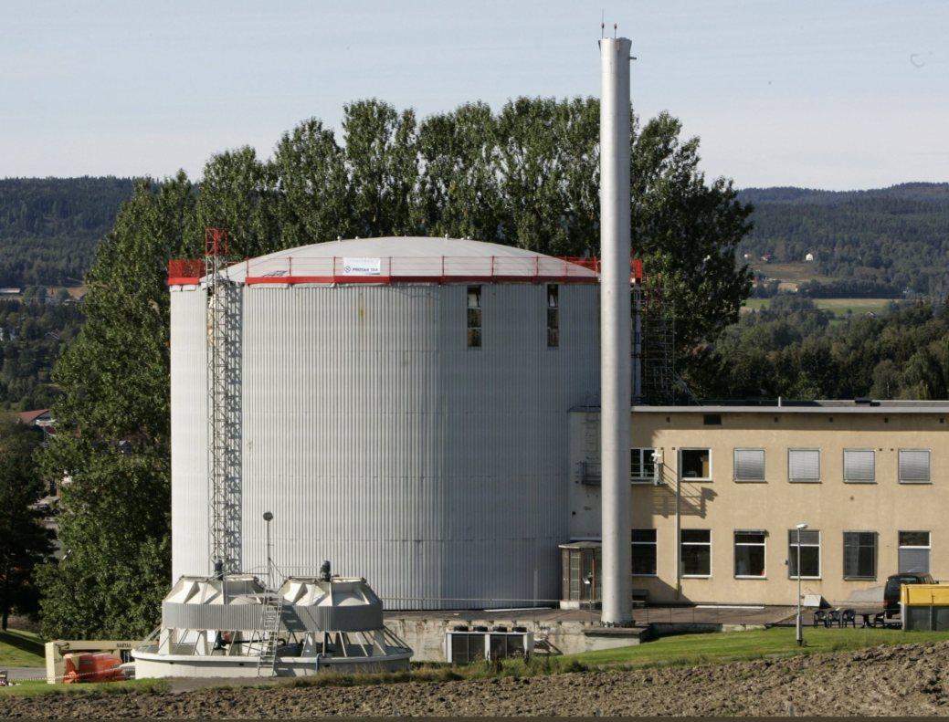 Un réacteur de recherche nucléaire norvégien. - Gracieuseté