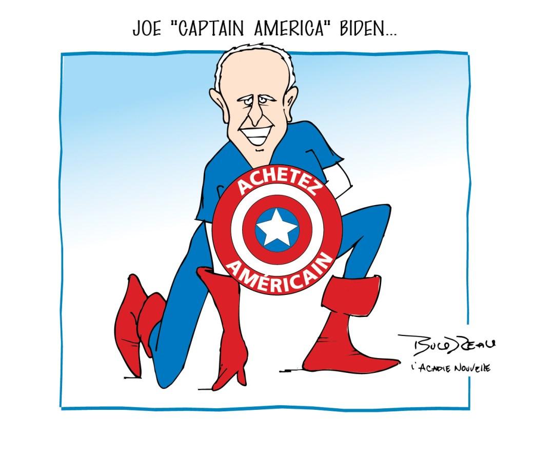 Caricature, 27 janvier 2021