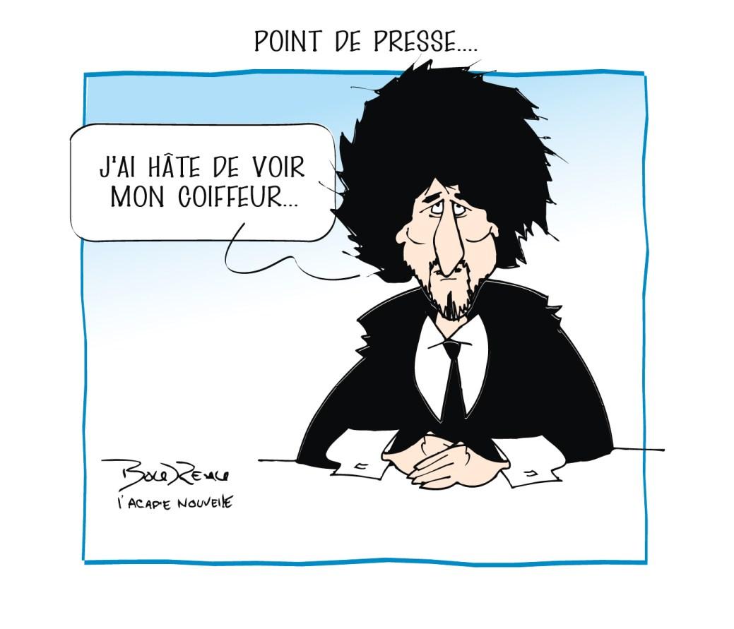 Caricature, 17 février 2021