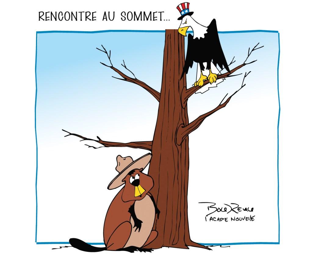 Caricature, 25 février 2021