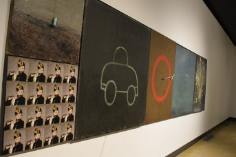 Une oeuvre de l'exposition Auto sapiens de Christian Michaud. - Acadie Nouvelle: Sylvie Mousseau