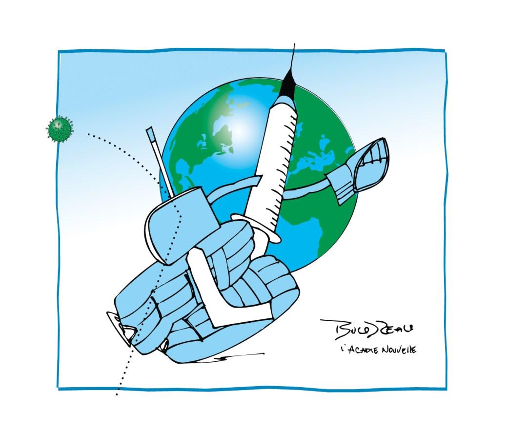Caricature, 18 mars 2021