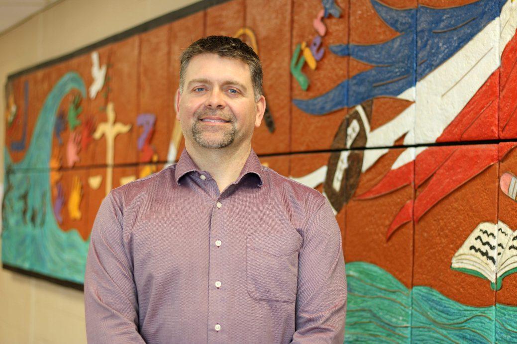 Le directeur de l'école Le Mascaret, Serge Boucher, assure que les enseignants sont convaincus par le changement d'approche. - Acadie Nouvelle: Simon Delattre