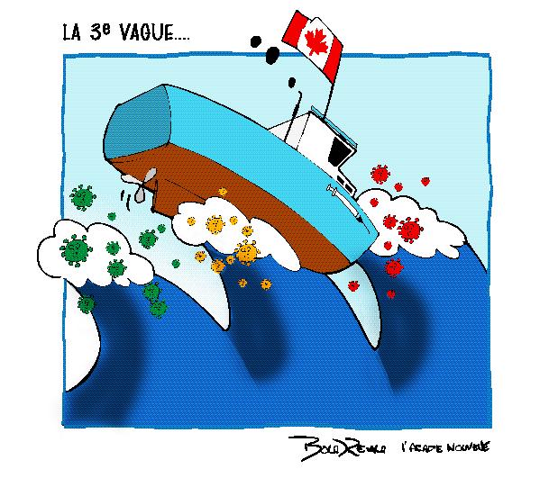 Caricature, 9 avril 2021