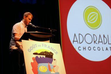 Maxime Gauvin, directeur général de La Récolte de Chez-Nous, s'est assuré de mettre en contact les restaurateurs avec les producteurs de la région. - Acadie Nouvelle: Simon Delattre