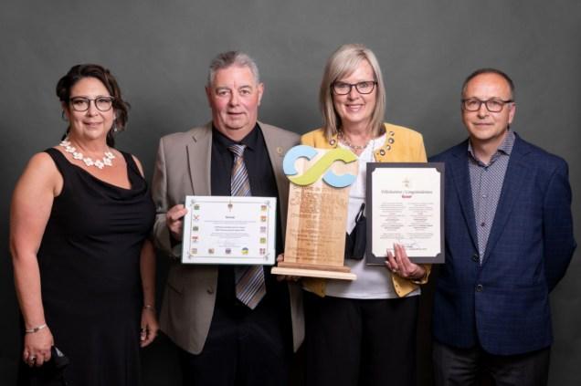 L'entreprise Restair a remporté le prix d'Entreprise bénévole de l'année. - Gracieuseté: Photographie Franky