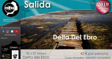 ACAF fin de semana Delta del Ebro 2019