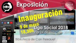 """Inauguración exposición """"Liga Social 2018"""" en biblioteca Can Peixauet @ Biblioteca de Can Peixauet"""