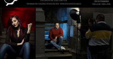 Taller de iluminación Strobist Experience con Jonatan Justicia en ACAF Santa Coloma