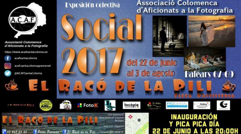 inauguración exposición ACAF Liga 2017 en El Racó de la Pili