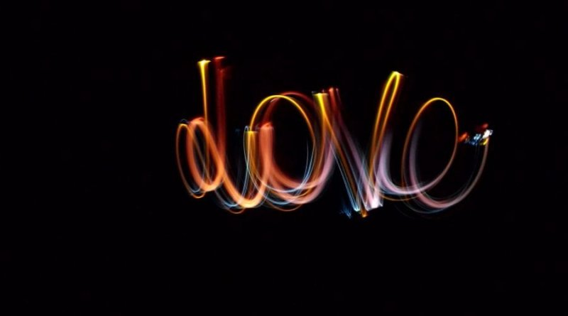 light Painting Love Success by Elettrika