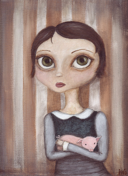 piggy girl by kgb