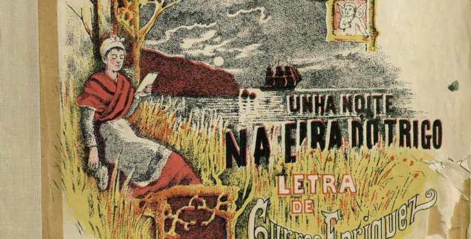 Unha noite na eira do trigo