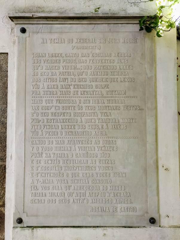 Na tumba de Moore