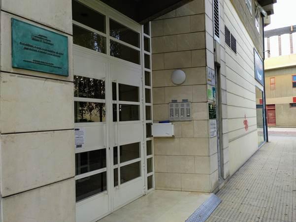 Portal da casa de Xabier Docampo