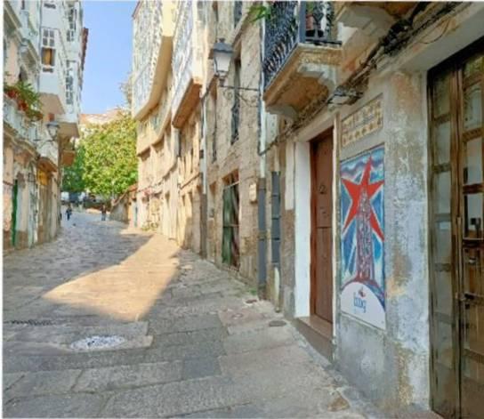 Cidade Vella - Rúa Damas
