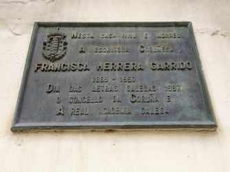 Placa Francisca Herrera Garrido