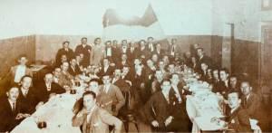Abril 1932. Café Alfredo, O Barco. Banquete polo I aniversario da II República