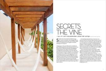 First Class Magazine, Secrets the Vine