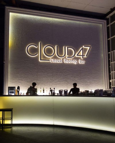 Cloud 47 Casual Rooftop Bar em Bangkok