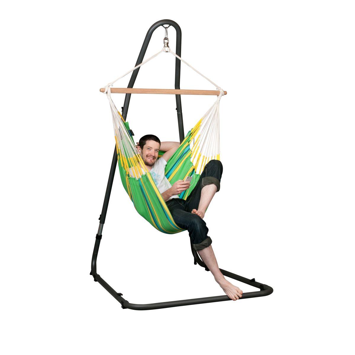 la siesta chaise hamac basic currambera kiwi support pour chaise hamac medit acandi vente de hamac par le specialiste du hamac en france