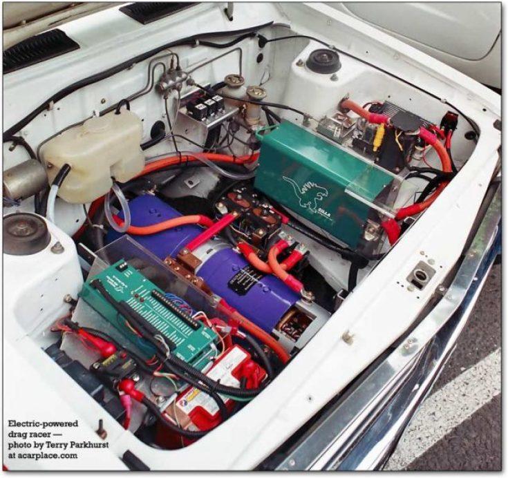 drag racing electric motors