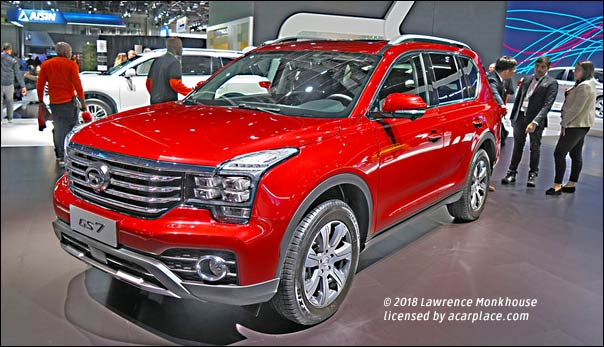 Coming to America: this Chinese SUV | aCarPlace