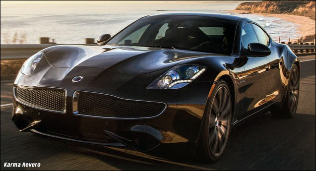 karma revero electric car