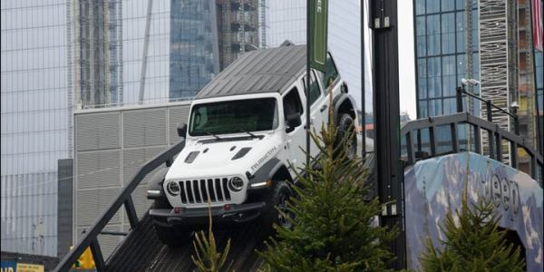 Jeep in Manhattan