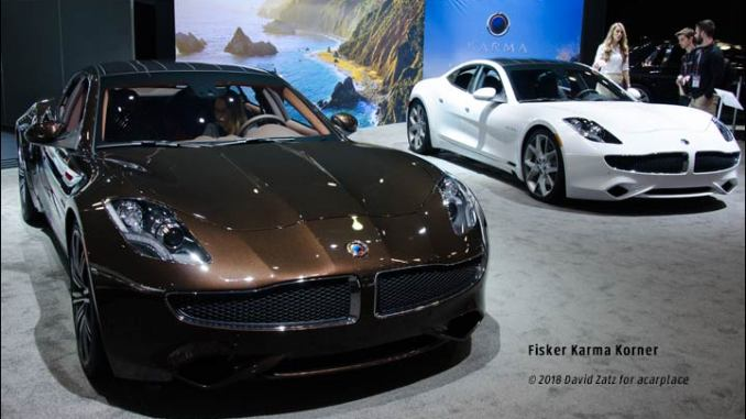 The Fisker Karma was in development quite a long time when the company could struggle on no longer; and Chinese parts supplier Wanxiang Group bought the ...